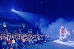 Reza on stage